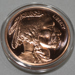 Copper Round (Indian Head)