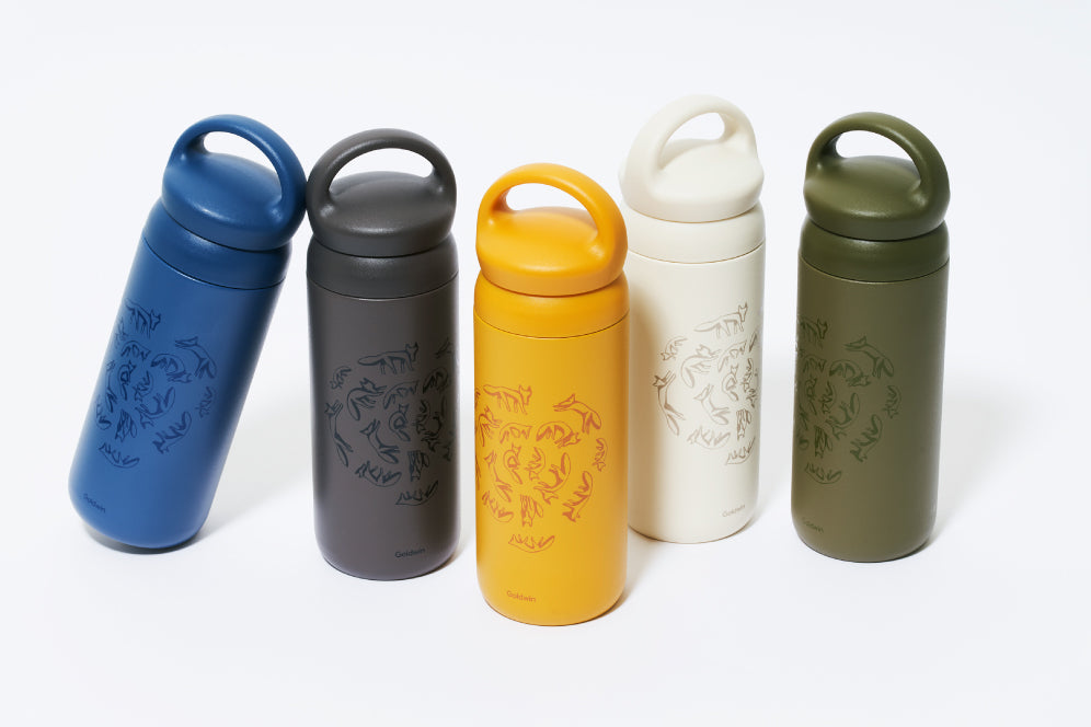 GOLDWIN DAY OFF tumbler collaboration