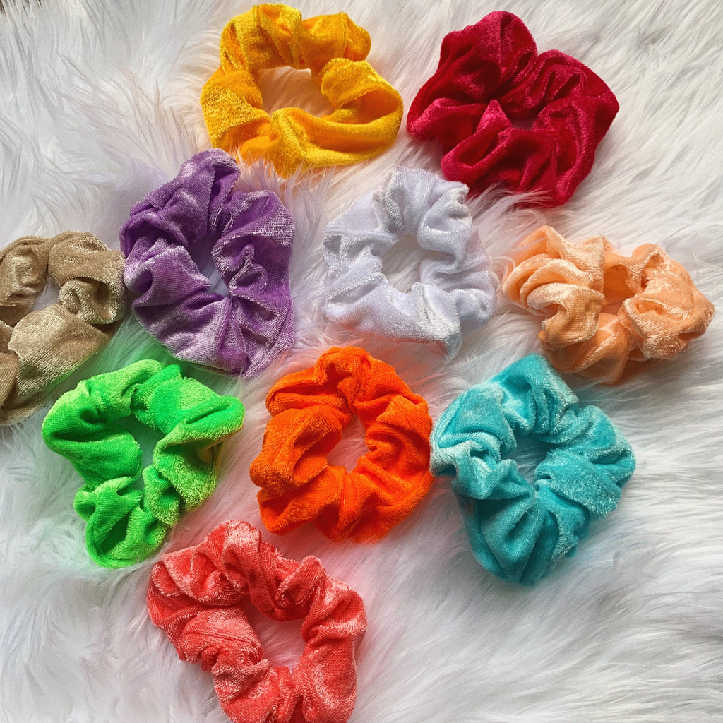 SUMMER SCRUNCHIE 10 PACK