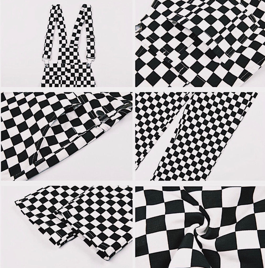 THE CHECKERBOARD OVERALLS