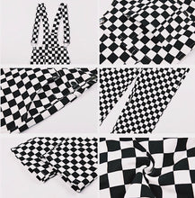 Load image into Gallery viewer, THE CHECKERBOARD OVERALLS