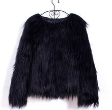 Load image into Gallery viewer, TOO BOUJEE FAUX FUR JACKET