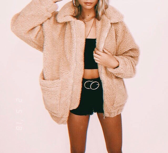 THE TEDDY BEAR JACKET