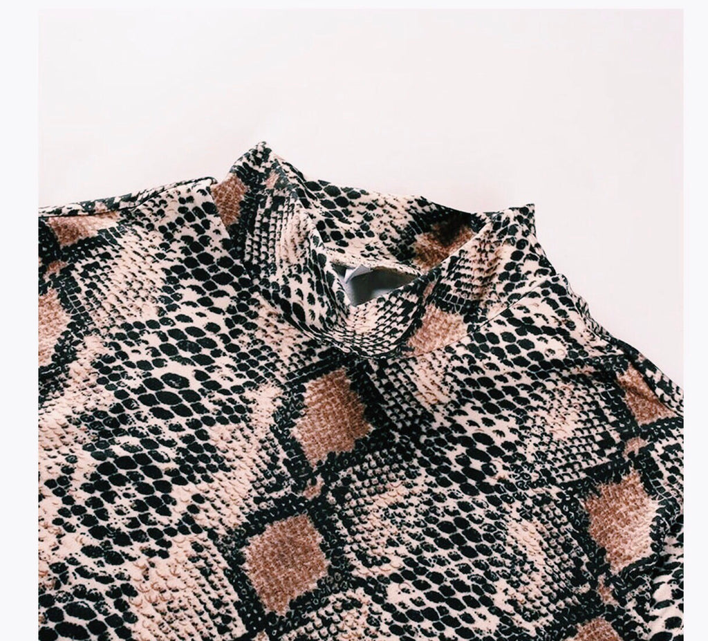 THE SNAKESKIN BODYSUIT
