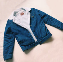Load image into Gallery viewer, THE DENIM SHERPA JACKET