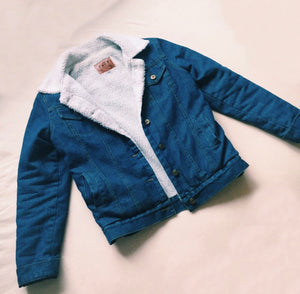 THE DENIM SHERPA JACKET