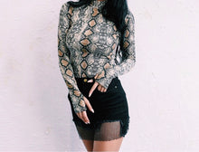 Load image into Gallery viewer, THE SNAKESKIN BODYSUIT