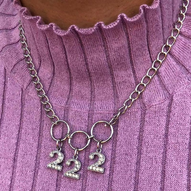 NUMBERS NECKLACE
