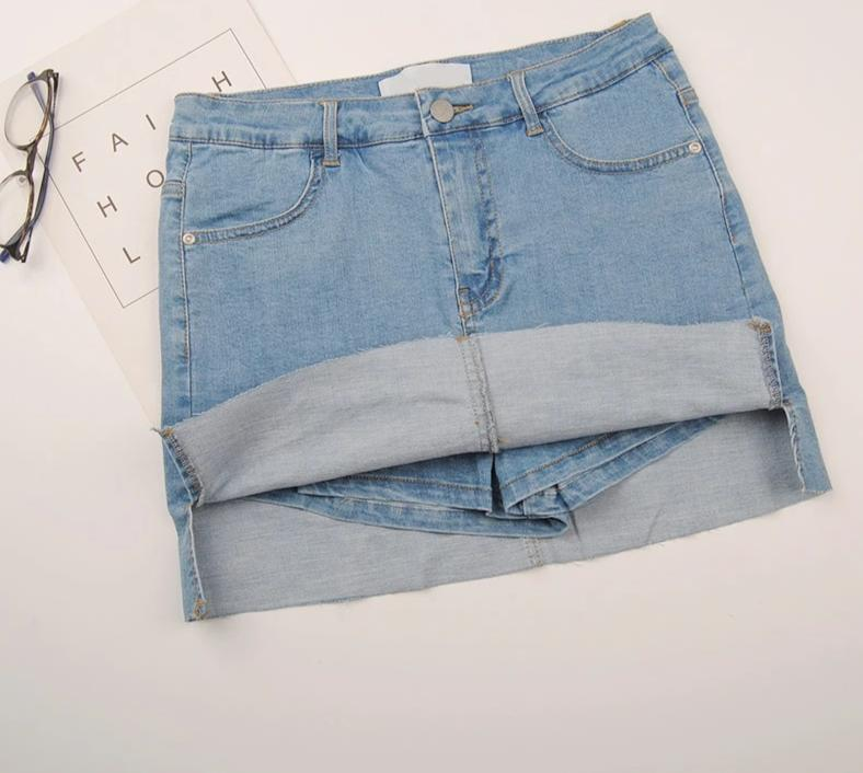 BETTY DENIM SKORT