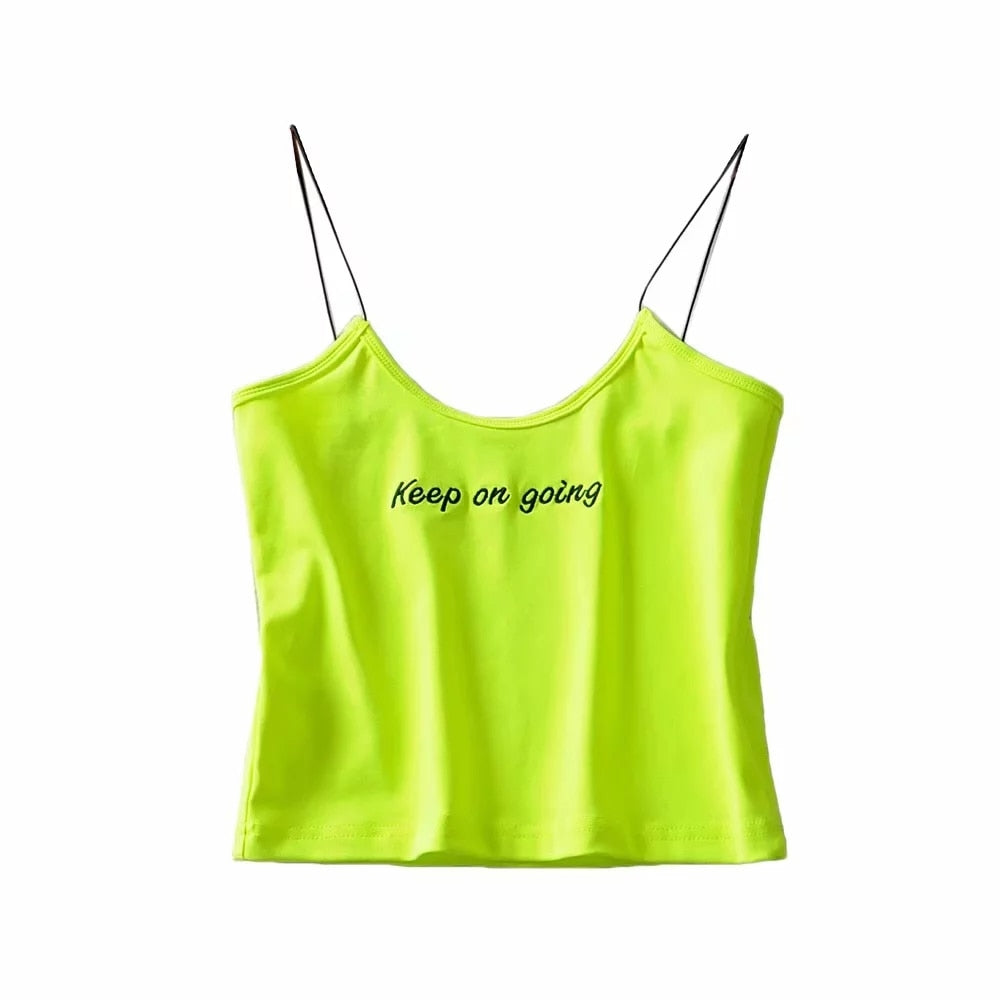 KEEP ON GOING TANK TOP