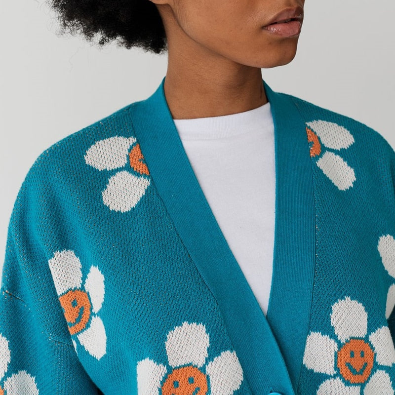SUNFLOWER CARDIGAN