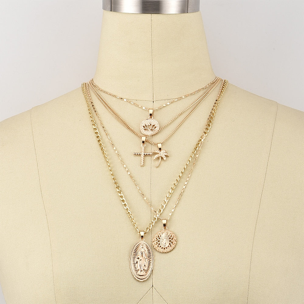 SUNDAY SERVICE NECKLACE SET