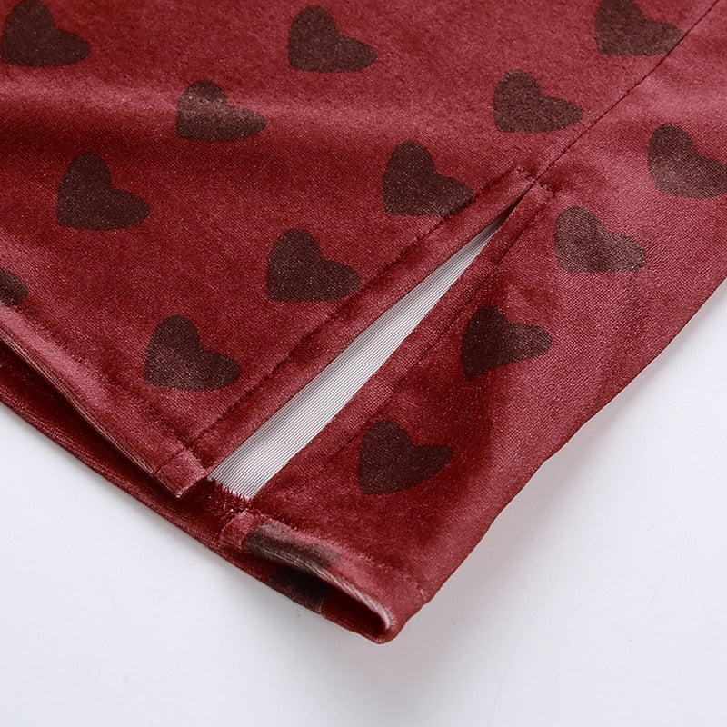 THESE HEARTS SKIRT