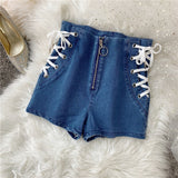 JADA HIGH WAIST SHORTS