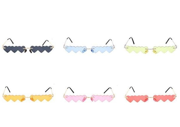 TRIPLE HEART SUNGLASSES