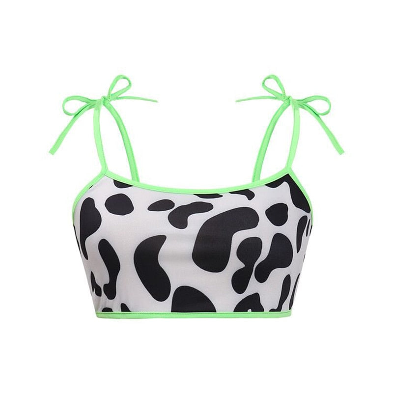 COW GIRL CROP TOP