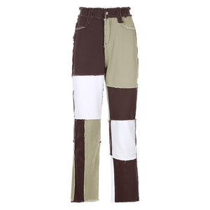 ZEZE PANTS IN BROWN