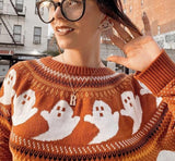 GHOST ACRYLIC SWEATER