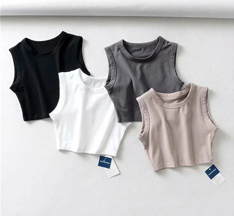 BASIC SLEEVELESS TANKS