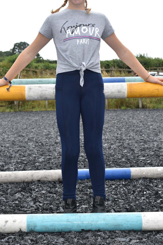 Bella Equestrian Children's Sport Leggings 2