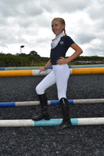 Load image into Gallery viewer, Childrens Competition Sport Riding Tights/Leggings - White