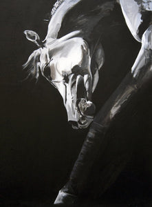 "Large Horse Greetings Card ""Hidden Soul"""