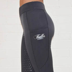 Sport Riding Tights/Leggings - Steel Grey