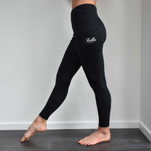 Load image into Gallery viewer, Sport Riding Tights/Leggings - Black