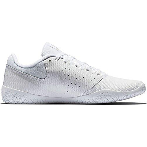 NIKE Women's Cheer Sideline IV Cheerleading Shoes (8 B US, White/White/Pure Platinum) - Eatsleepflip