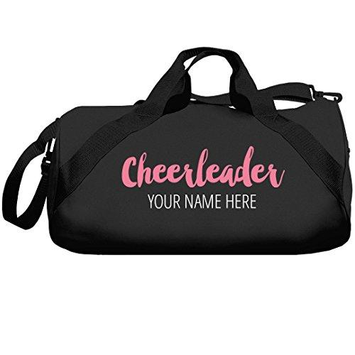 Custom Name Cheerleader Bags: Liberty Barrel Duffel Bag - Eatsleepflip
