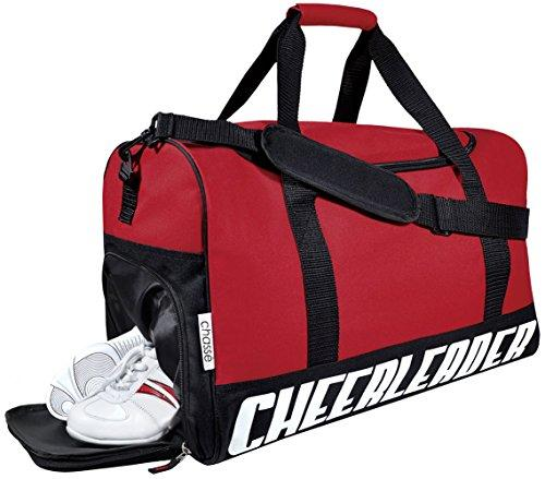 Chassé Girls' Travel Sport Bag With Cheerleader Imprint - Purple - Eatsleepflip