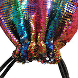 Alritz Mermaid Sequin Drawstring Bag - Eatsleepflip