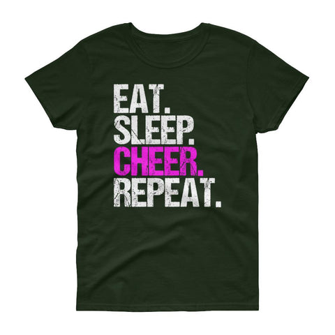 Eat.Sleep.Cheer t-shirt - Eatsleepflip