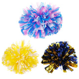1PC Handheld Pom Poms Cheerleader Cheerleading Cheer Dance Party Football Club Decor - Eatsleepflip