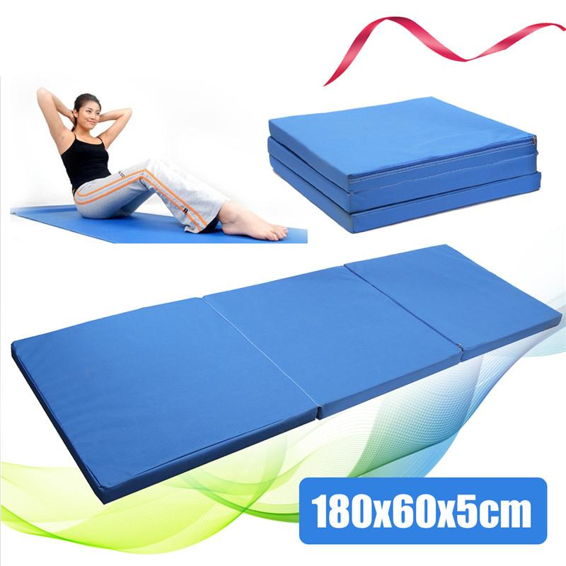 Multifunctional Blue Folding Gym Mat - Eatsleepflip
