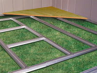 Accessories - Shed Floor Frame Kit For 6 X 4 Ft., 8 X 4 Ft., 10 X 4 Ft. For Euro-Lite Pent Sheds