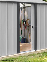 Arrow Murryhill 12 x 31 Garage, Steel Storage Building,  Prefab Storage Shed