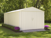 Commander 10 x 20 ft. Steel Storage Building Eggshell