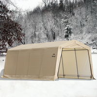 AutoShelter 10 x 20 Portable One Car Garage