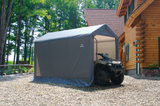ShelterLogic 6 x 12 x 8 ft. Gray Shed-in-a-Box