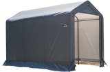 ShelterLogic 6 x 10 x 6 ft. 6 in. Gray Shed-in-a-Box