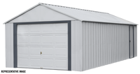 Arrow Murryhill 14 x 21 Garage, Steel Storage Building,  Prefab Storage Shed