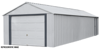Arrow Murryhill 14 x 31 Garage, Steel Storage Building,  Prefab Storage Shed