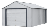 Arrow Murryhill 12 x 17 Garage, Steel Storage Building,  Prefab Storage Shed