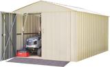 Commander 10 x 15 ft. Steel Storage Building Eggshell