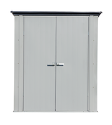 Spacemaker Patio Shed, 5x3, Flute Grey and Anthracite