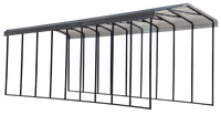 Arrow 14x42x14 Charcoal RV Carport