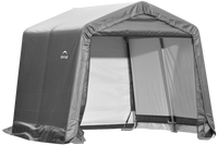ShelterLogic 10 x 10 x 8 ft. Gray Shed-in-a-Box