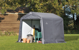 ShelterLogic 8 x 8 x 8 ft. Gray Shed-in-a-Box
