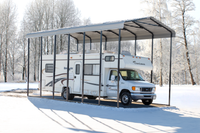 Arrow 14x29x14 Eggshell RV Carport